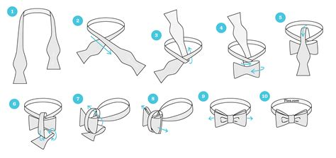 How To Make A Bow Tie Out Of Paper - how to tie a bow tie ties