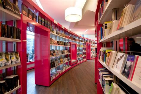 Shabby Bookcase Amazing Paagman Book Store Design By Cube Architects