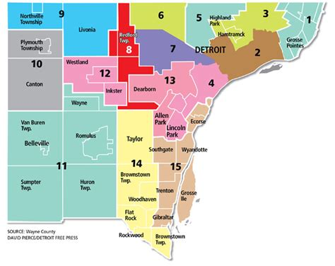 map of wayne county michigan detroit real estate and market trends