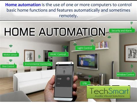 ppt home automation smart home system tech smart