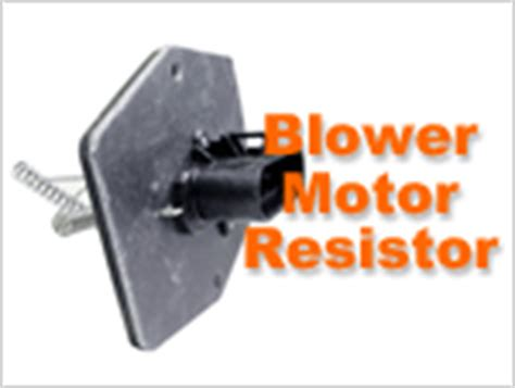 how to check a blower motor resistor part 2 gm 4 3l 5 0l 5 7l index of articles