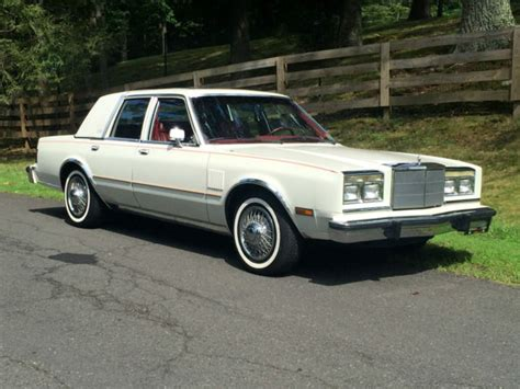 Chrysler Fifth Avenue by Sunroof 1985 Chrysler Fifth Avenue Diplomat Gran Fury New