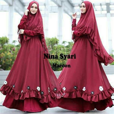 Gamis Banyak Warna gamis syari set banyak warna shopee indonesia