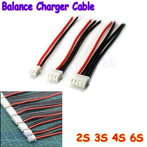 3s lipo battery charger 5pcs lot 2s 3s 4s 5s 6s lipo battery balance charger cable
