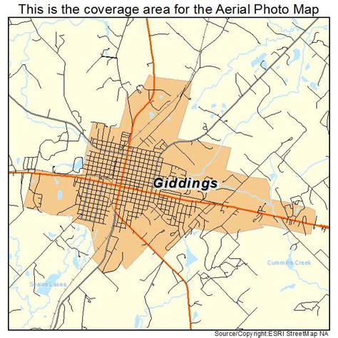 giddings texas map aerial photography map of giddings tx texas