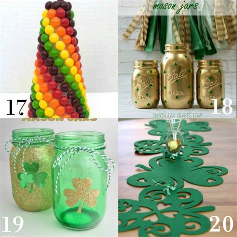 Garland Home Decor 28 Diy St Patrick S Day Decorations The Gracious Wife