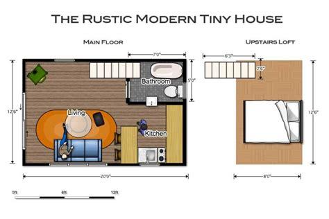 housr plans the rustic modern tiny house tiny living