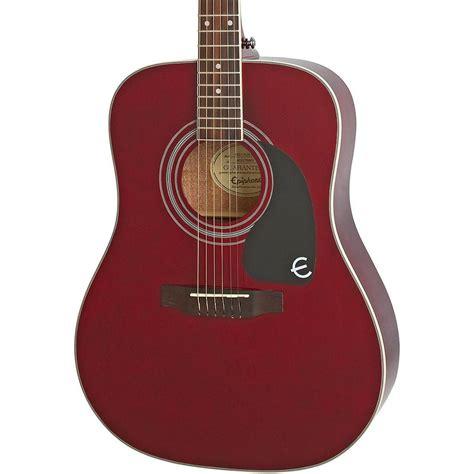 Gitar Akustik Elektrik Epipone Pro 1 Original 1 epiphone pro 1 plus eappwrch1 wine akustik gitar