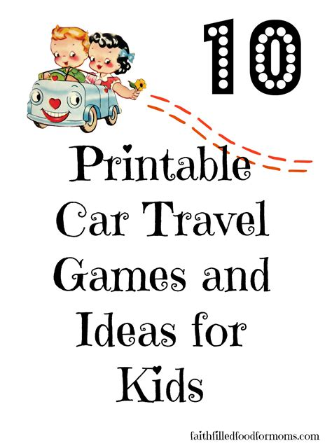 printable toddler travel games 5 best images of kids travel games printable car travel