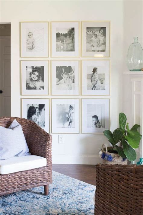 como decorar con fotos familiares ideas para decorar tu casa con fotos familiares 15