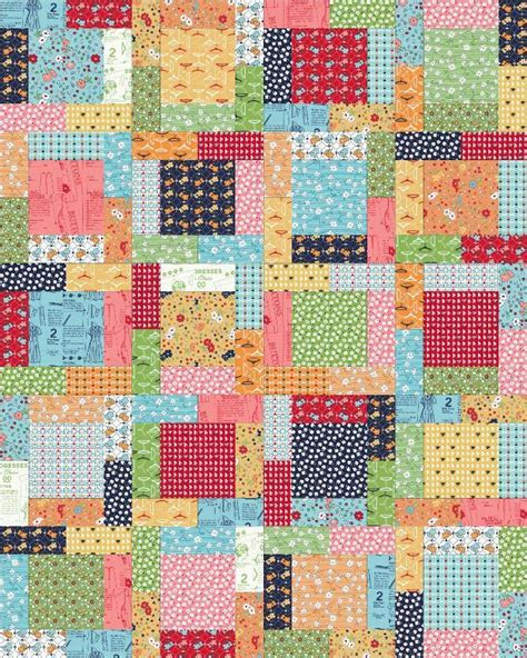 Size Quilt Pattern by 7 Name Quilting Rosewood 6 Sizes Quarters