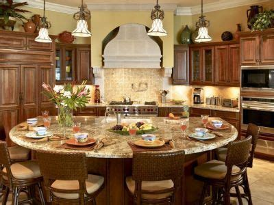 round kitchen island with seating the most spectacular round kitchen island ever