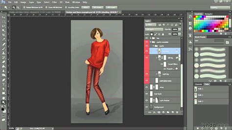 designing with photoshop photoshop fashion design tutorial swapping patterns