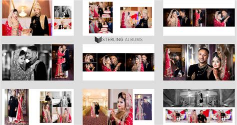 Wedding Album New Design by Our Album Designs Sterling Albums