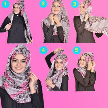 cara pake jilbab praktis dan cepat aneka cara memakai jilbab modern dengan cepat dan mudah