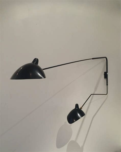 Serge Mouille Light Fixture Serge Mouille Two Arm Rotating Wall Light For Sale At 1stdibs