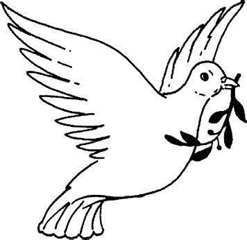 imagenes para dibujar que representen la libertad paloma para colorear