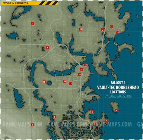 vault tec bobblehead locations map fallout 4