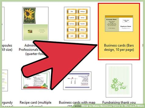 how to create thank you cards with microsoft word 2010