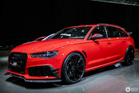 audi rs6 abt price geneva 2017 abt impresses with the rs6 r