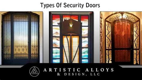 types  security doors archives artistic