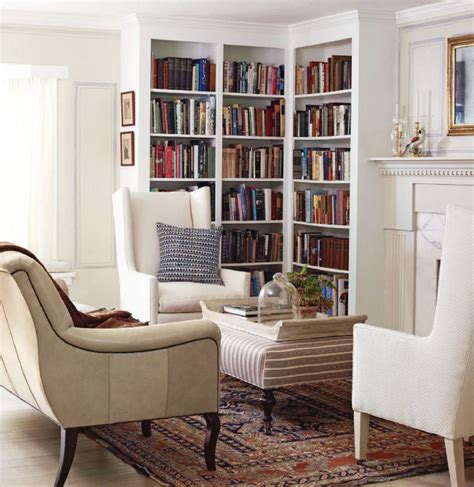 Corner Library Bookcase Corner Library Living And Family Rooms Pinterest