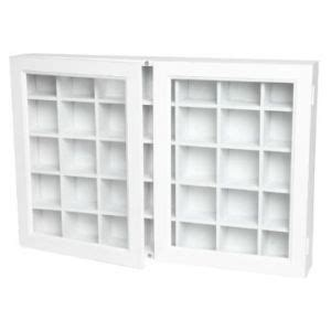 White Curio Wall Cabinet by White Wooden Curio Wall Two Door Cabinet L S Folder