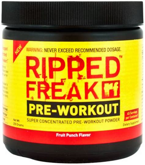 pharmafreak ripped freak pre workout at bodybuilding
