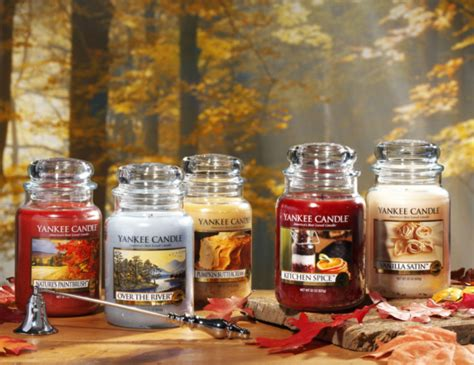 fall scents scents of fall new yankee candle fragrances a little