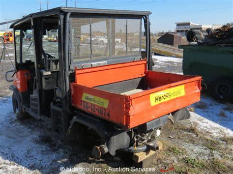 2013 kubota rtv1140 4wd all terrain vehicle power dump bed diesel parts repair ebay