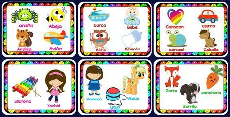 bajar imagenes educativas precioso abecedario en fichas listas para descargar