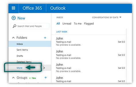 Office 365 Outlook Junk Folder Recover Deleted Mail Items Office 365 4 7 O365info