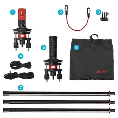 Harga Pac Kit jual joby jib kit and pole pack harga dan spesifikasi