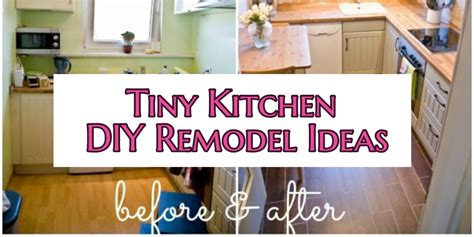 Ideas For Kitchen Cabinets Makeover by Small Kitchen Diy Ideas Before Amp After Remodel Pictures