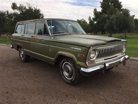 1970 jeep wagoneer 1970 jeep wagoneer arizona survivor