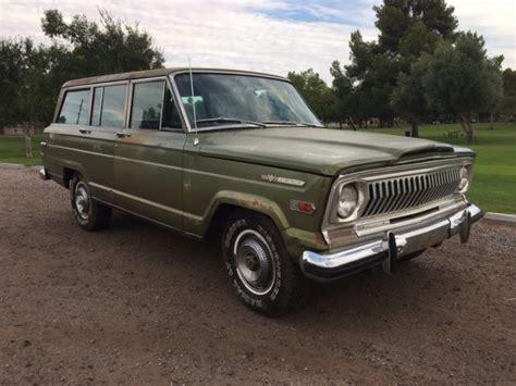 1970 jeep wagoneer for sale 1970 jeep wagoneer arizona survivor