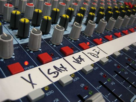 audio mixer console free audio mixer console stock photo freeimages