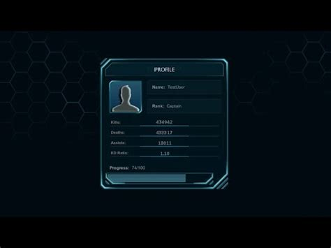 unity 3d futuristic multiplayer game [menu concept] #4