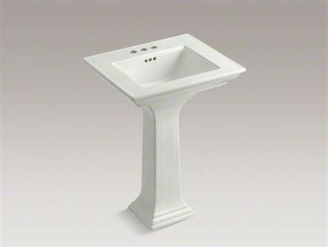kohler memoirs pedestal sink 24 kohler memoirs r stately 24 quot pedestal bathroom sink with