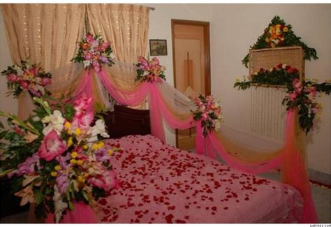 Bedroom Flower Decoration by Bridal Wedding Bedroom Decoration Designs Ideas Pictures