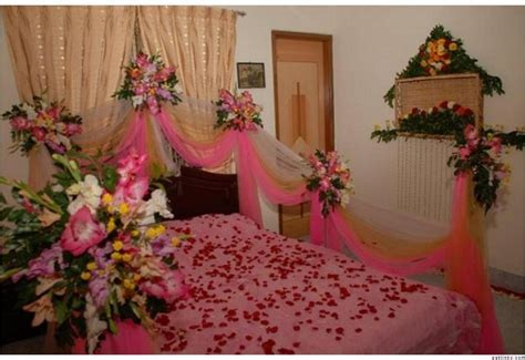 Beautiful Bridal Wedding Bedroom Decoration Designs Ideas