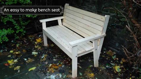 how to make a bench cushion easy to make bench seat youtube