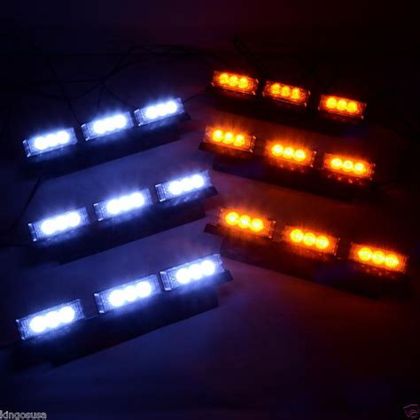 6x9 speakers with led lights find 6x9 amber and white led emergency warning strobe
