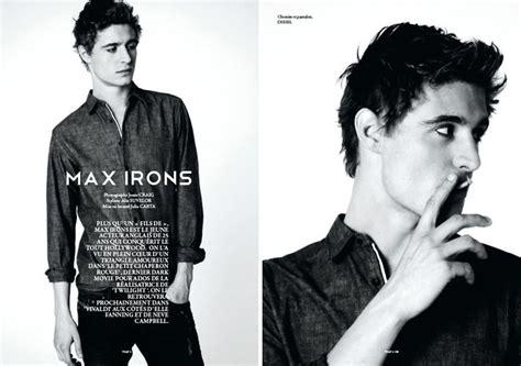 Max Brue max irons that magazine