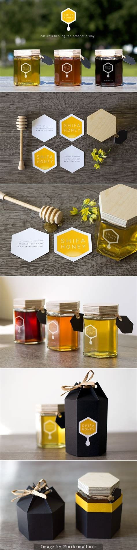 Shifa Set 25 best ideas about honey label on honey jars