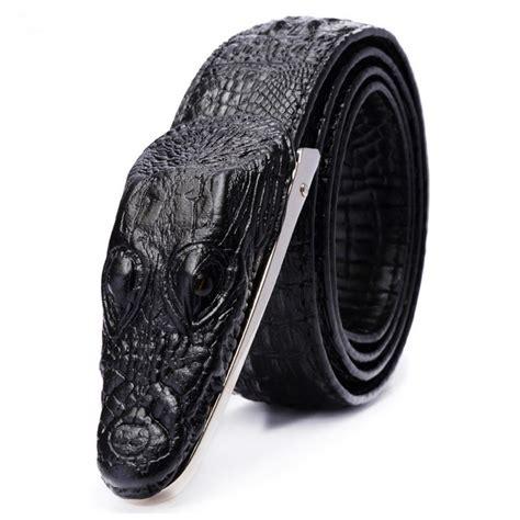 Ikat Pinggang 3d Model Crocodile Omfh7lbk ikat pinggang 3d model crocodile black jakartanotebook