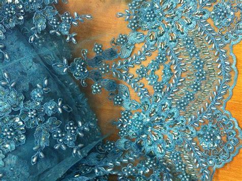 beaded fabric for dresses heavy beaded high grade bridal lace fabric uk