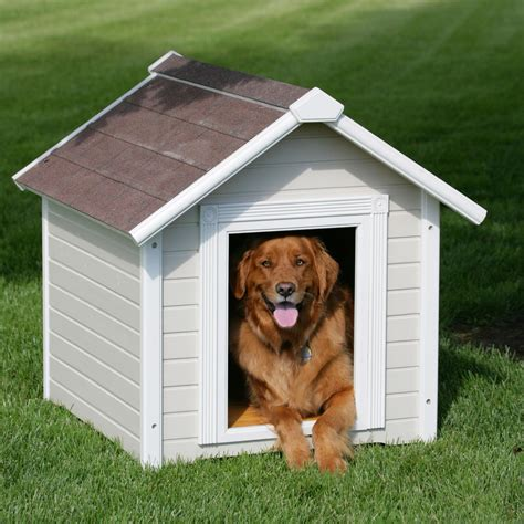 built in dog house learn how to build a dog house1 jpg