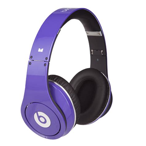 Headset Beats Studio purple beats by dr dre studio headphones