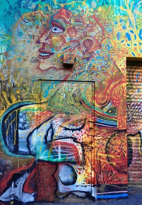 san franciscos surreal street art bip nychos mars  mor